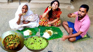 PUJA Festival Nobomi Special Country Chicken Curry with Lemon Rice prepared by limu | Village Food