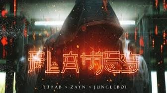 R3HAB & ZAYN & Jungleboi - Flames (Lyric Video)