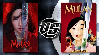 Mulan (2020) VS Mulan (1998)