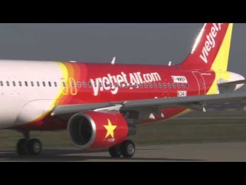 VietJetAir's first A320 jetliner on order from Airbus