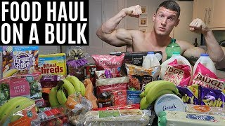 MY BULKING FOOD SHOP | Shopping on a Bulk | Full Day of Eating
