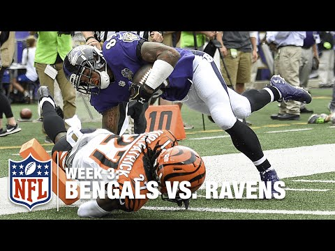 Steve Smith with a Beast Catch-and-Run 50-Yard TD | Bengals vs. Ravens | NFL