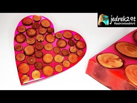 HEART 💖 from Resin. DIY. Valentine's Day / ART RESIN