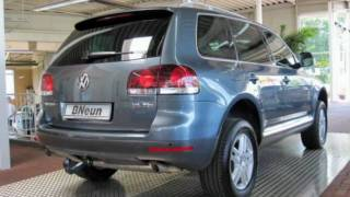Volkswagen Touareg  3,0 TDI V6 DPF Grau metallic 2008 www.autohaus.biz/bneun