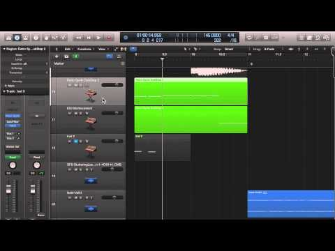 Logic Pro X Piano Roll Draw Instruments
