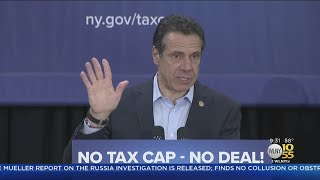 Cuomo Talks Property Tax Caps On Long Island