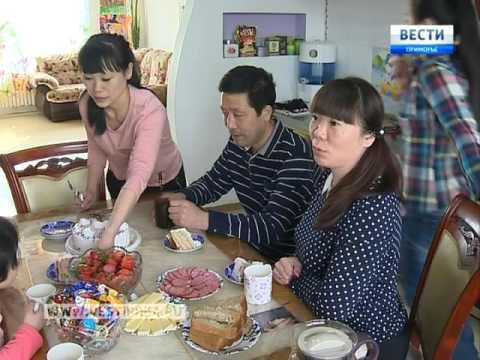Необычная русско-китайская семья