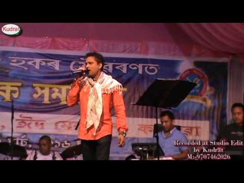 Protidine Tumi Ahi Diya Apahi Full  Zubeen Garg In Kacharua Stages Program 2016