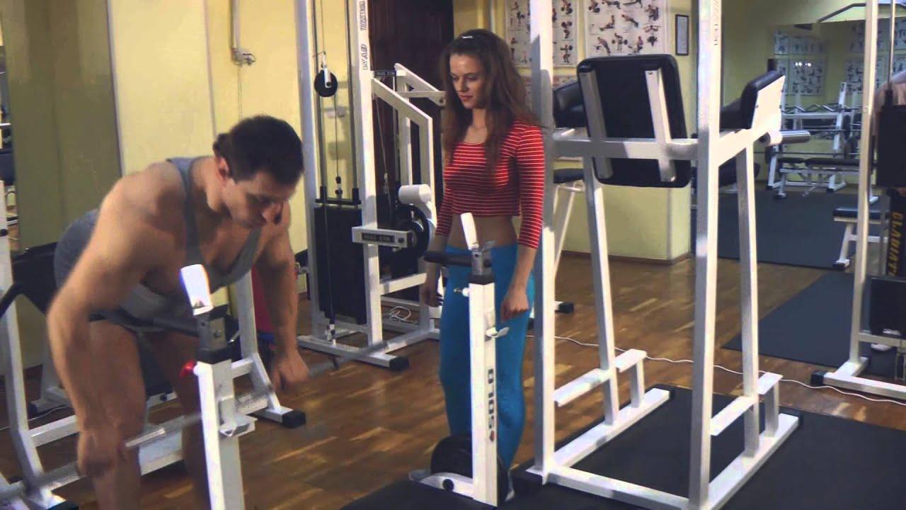 Тренировка сексуальных частей тела