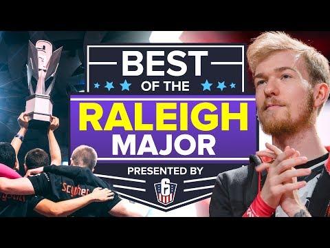 Best Of The Raleigh Major (Rainbow Six Siege)