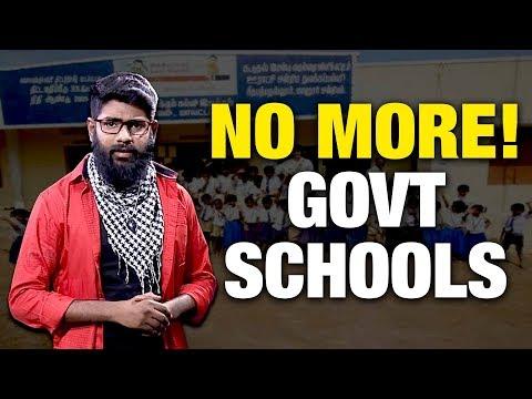 திட்டமிட்டு  மூடப்படும் அரசு பள்ளிகள் | No More Government Schools in TN | Saattai  #DudeVicky