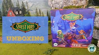 The Quest Kids Board Game - Unboxing