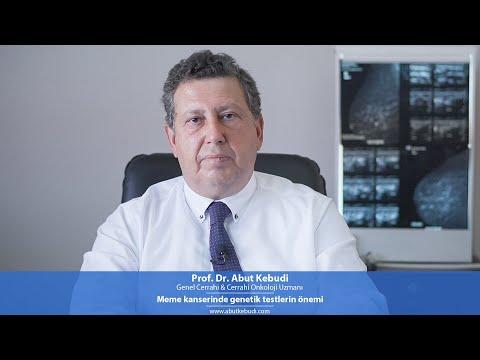 Meme kanserinde genetik testlerin önemi - Prof. Dr. Abut Kebudi