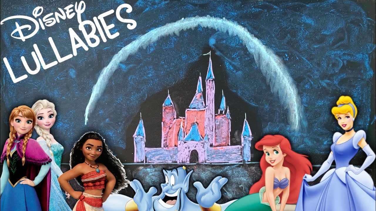6 Hours of Disney Lullabies for Babies ♫ Aladdin, Moana, Frozen, & More! [REUPLOAD]