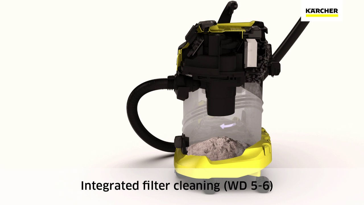 Karcher wet and dry vacuum cleaner wd5 premium youtube - Karcher wd5 premium ...