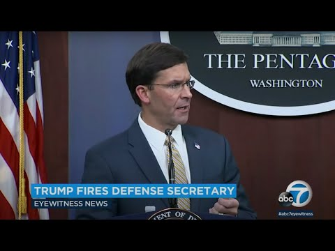 Trump fires Secretary
