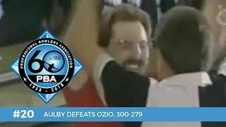 PBA 60th Anniversary Most Memorable Moments #20 - Aulby Defeats Ozio, 300-279 thumbnail