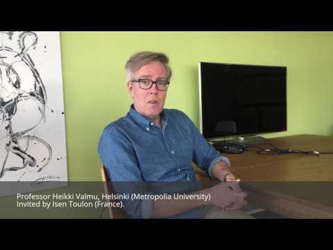 Isen Toulon meet  Prof. Heikki Valmu (Helsinki Metropolia University)