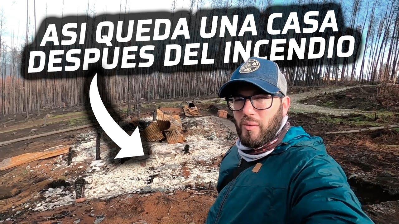 RECORRO LA ZONA DONDE HUBO UN DEVASTADOR INCENDIO👀 | LAGO PUELO🇦🇷
