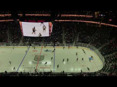 Opening Ceremony at T-Mobile Arena - Preseason Game vs Kings