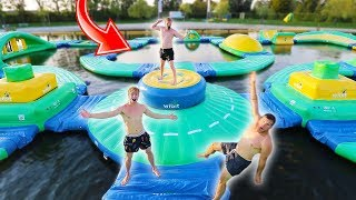 LAST TO STAY ON WATER TRAMPOLINE PARK WINS €1000 !