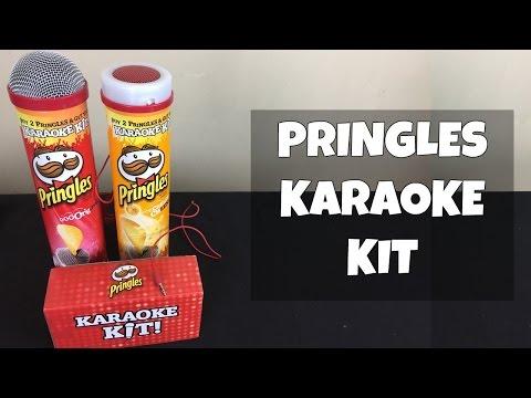 Pringles Karaoke Kit - Lets sing!