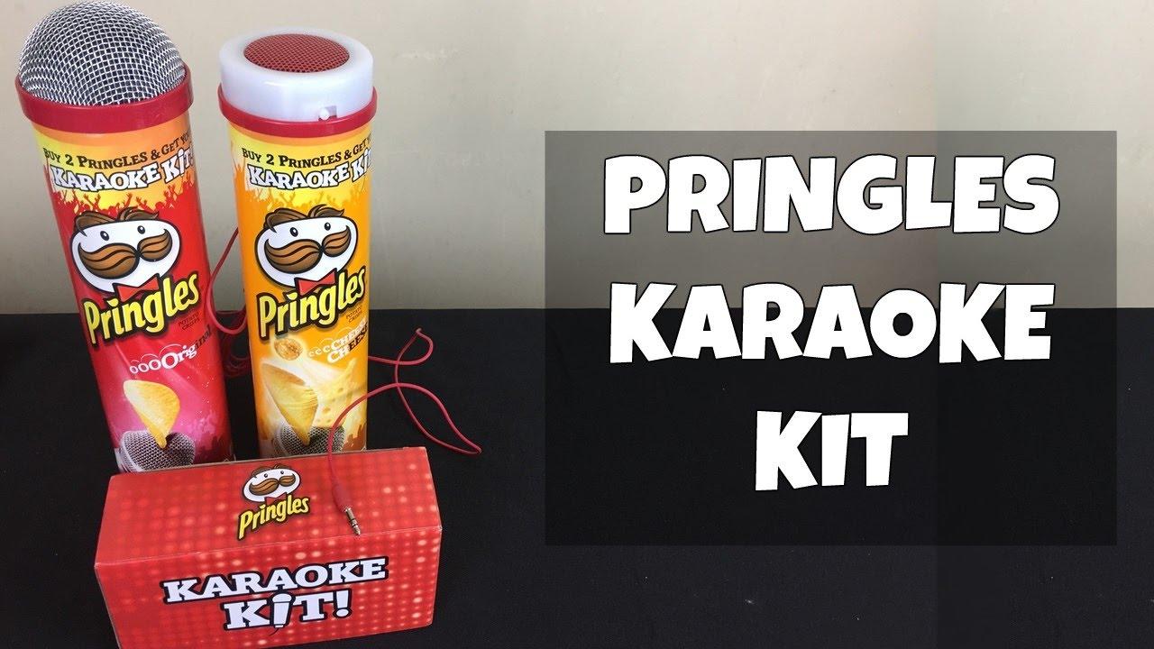 pringles karaoke kit lets sing youtube. Black Bedroom Furniture Sets. Home Design Ideas