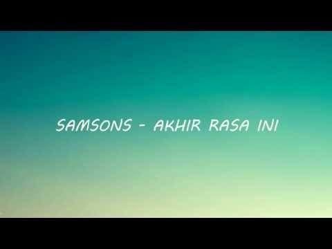 Bukan Diriku - Samsons (Lyric) | Doovi
