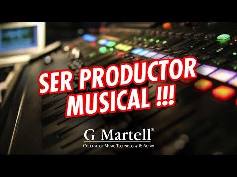 Que se necesita para SER PRODUCTOR MUSICAL | Capsula G Martell