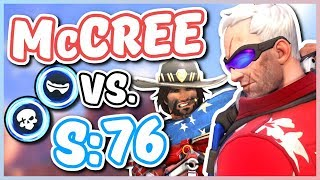 Overwatch - McCREE VS. SOLDIER: 76 (Who