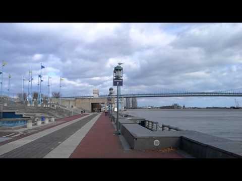 Cement Arena overlooking ocean Penn's Landing Pa