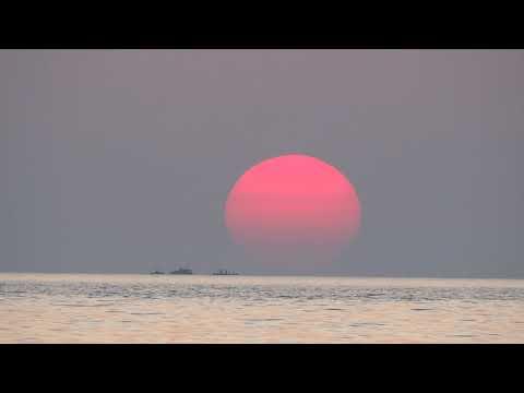 Alanya'da Günbatımı