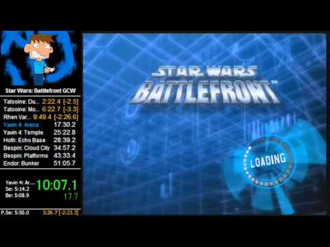 Star Wars: Battlefront Speedrun Galactic Civil War in 40:16 (WORLD RECORD)