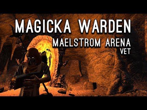 Maelstrom Arena Magicka Warden - Clockwork City Elder Scrolls Online ESO