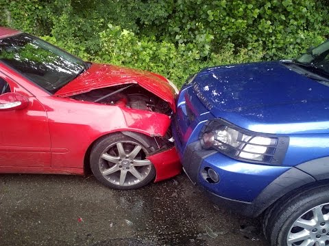 Is This Head On Crash 50/50 fault?  Insurance Company Thinks So
