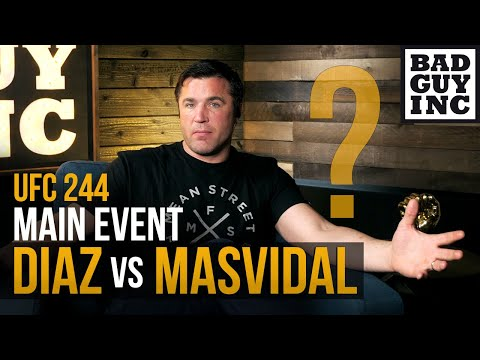 WHAT HAPPENED?...Nate Diaz vs Jorge Masvidal