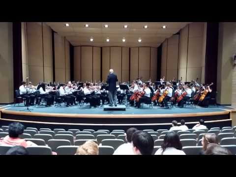 Newhart Middle School String Ensemble March 24 - Festival Performance at San Juan Hills H.S.