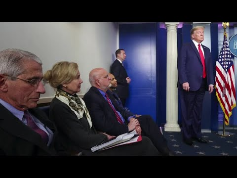 Trump says coronavirus task force to shift focus, drawing criticism