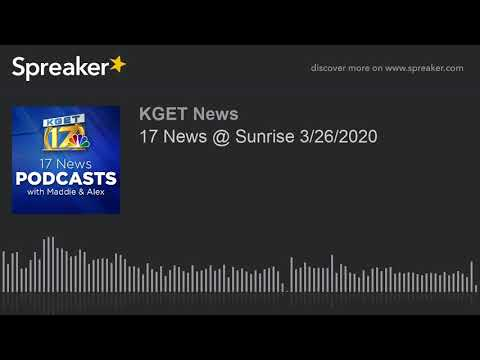 17 News @ Sunrise 3/26/2020