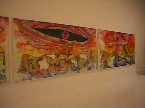 Francesco Clemente at Jeffrey Deitch 1, NYC (May 2009)