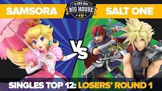 Samsora vs Salt One - Top 8 Losers' Qualifiers: Ultimate Singles - TBH9 | Peach vs Roy, Cloud