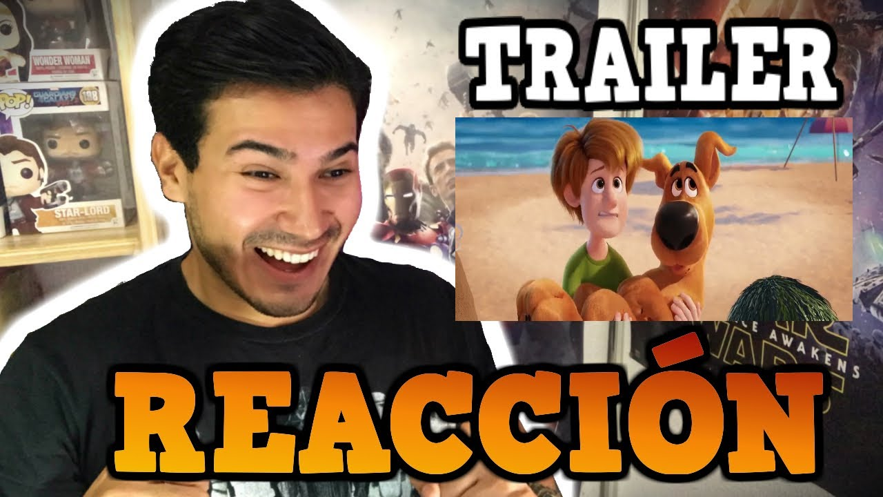 REACCIÓN TRAILER FINAL SCOOB! (2020) / GuayoChannel