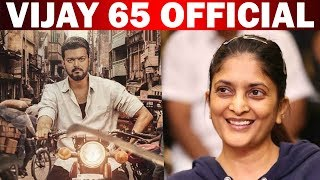 Director of 'Commander 65' is here ..! Vijay alliance with female director for first time ..!