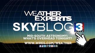 WREG-TV SKYBLOG3 - Mid-South Astronomy Blog for Sunday 10.23.16