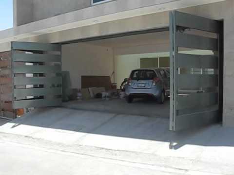 Porton automatico plegadizo youtube - Puertas de cocheras ...