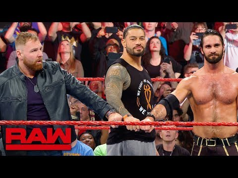 The Shield Say Goodbye To Dean Ambrose After Raw Goes Off The Air: Raw Exclusive, April 8, 2019