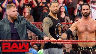 The Shield say goodbye to Dean Ambrose after Raw goes off the air: Raw Exclusive, April 8, 2019 thumbnail
