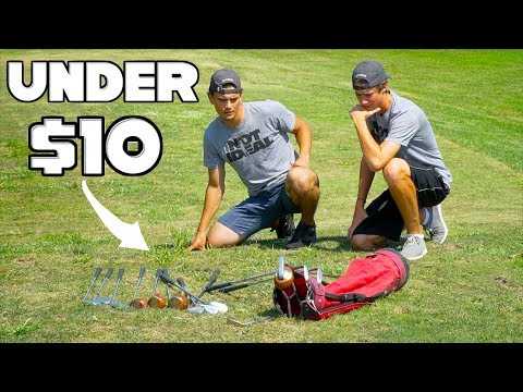 Playing Golf For As Cheap As Possible | Challenge