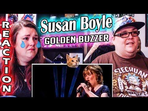 Susan Boyle Earns Golden Buzzer - America's Got Talent: The Champions REACTION!! 🔥