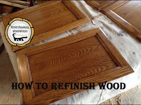 WoodWorking : Strip And Refinish Wood Furniture // How-To